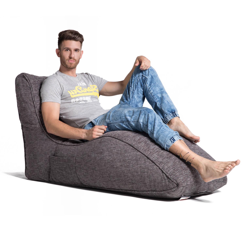 home cinema indoor bean bag avatar lounger luscious grey