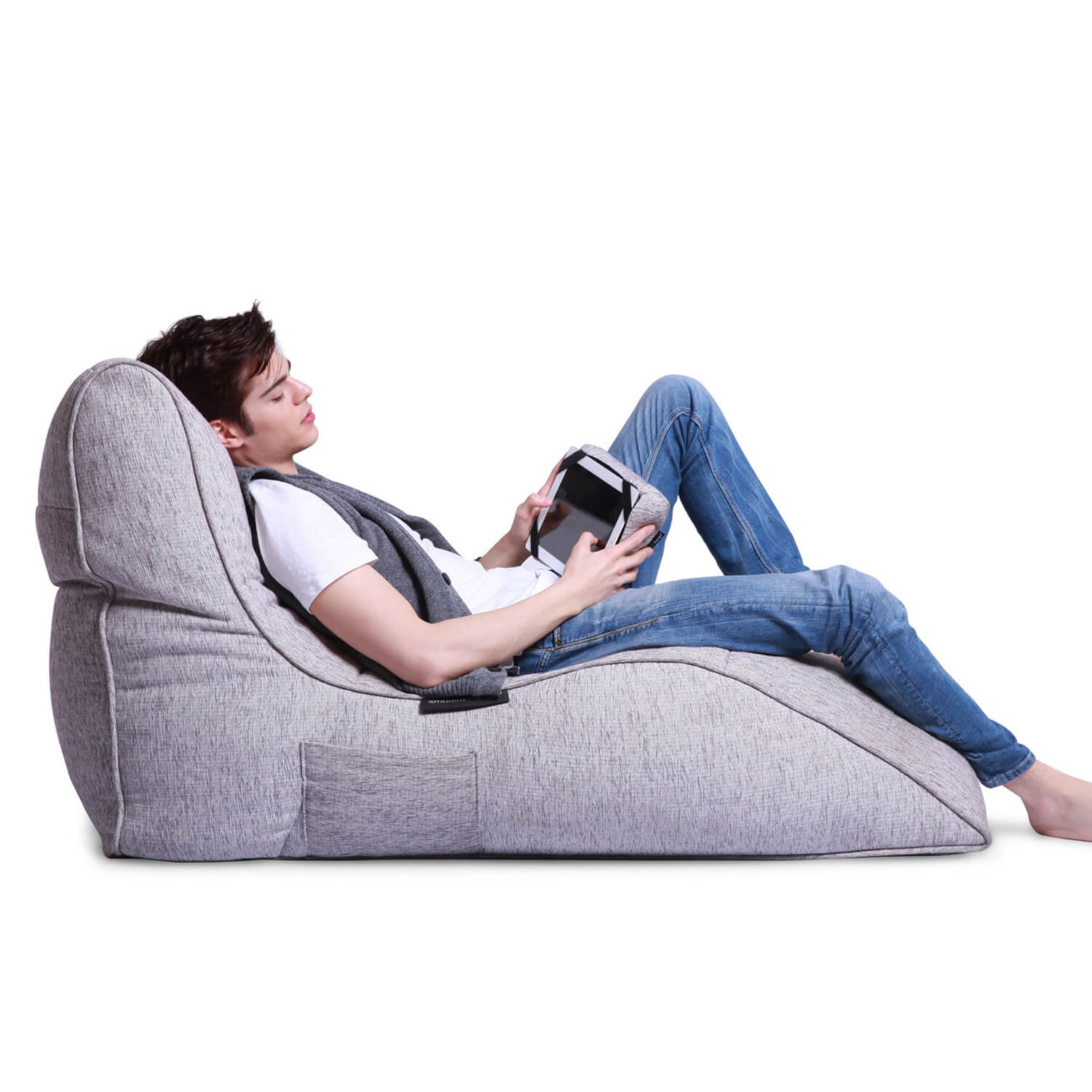Home Cinema Indoor Bean Bag Avatar Lounger Tundra