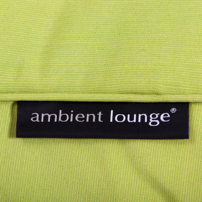 lime green designer sofa set in sunbrella fabric bean bag by ambient lounge - Sunbrella Fabric