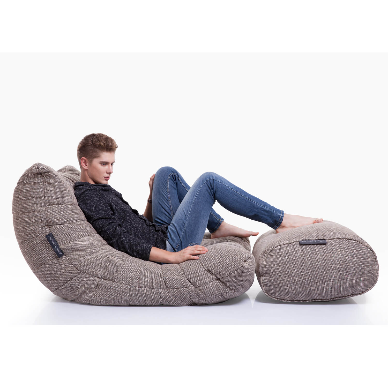 Interior Bean Bags Acoustic Sofa Eco Weave Bean Bag New Zealand