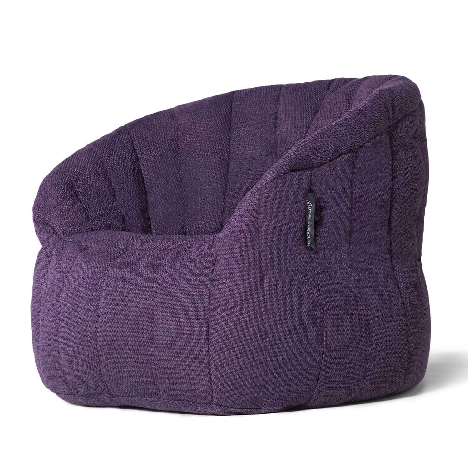 Interior Bean Bags Butterfly Sofa Aubergine Dream