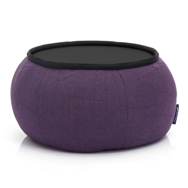 Indoor Purple Bean Bag Table Purple Fabric Table Australia