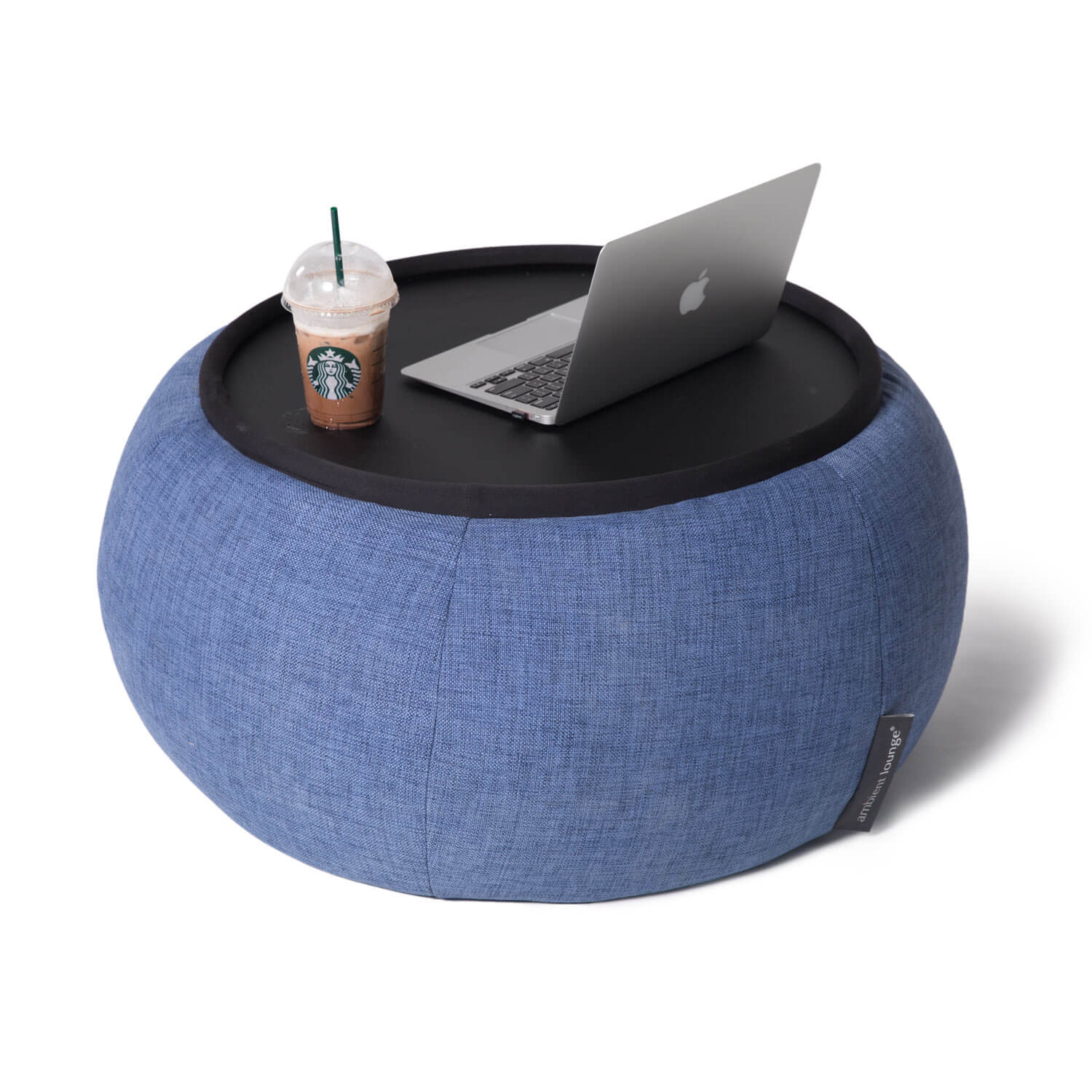 Indoor Bean Bag Table Versa Table Blue Jazz