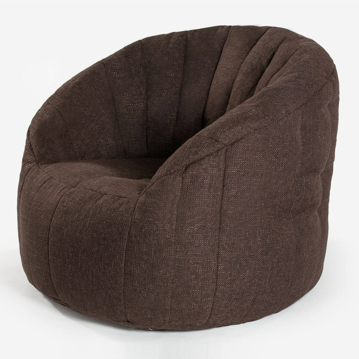 Interior Bean Bag Chair Butterfly Sofa Hot Chocolate