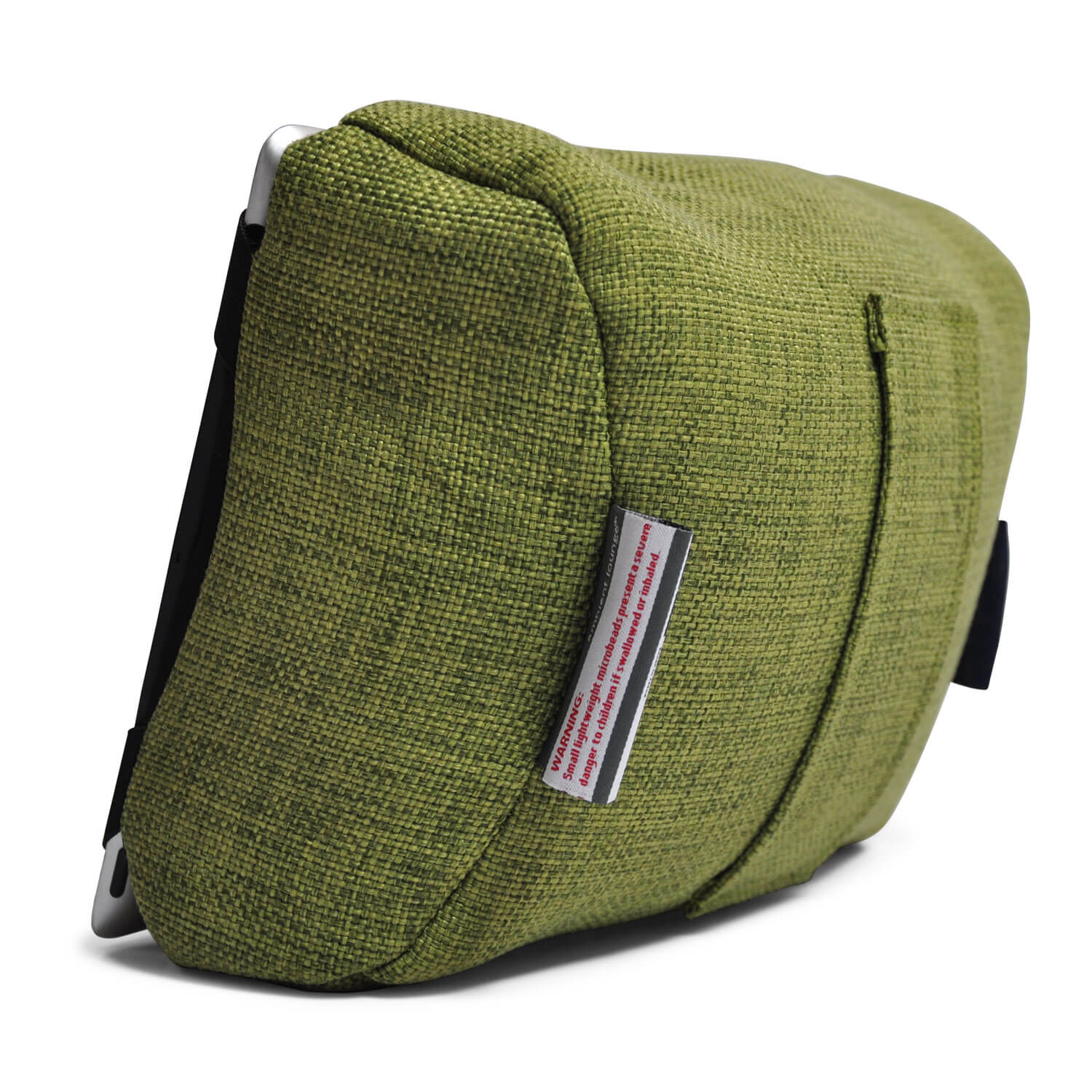 Tech Pillow Green Ipad Rest And Head Cushion For Travel