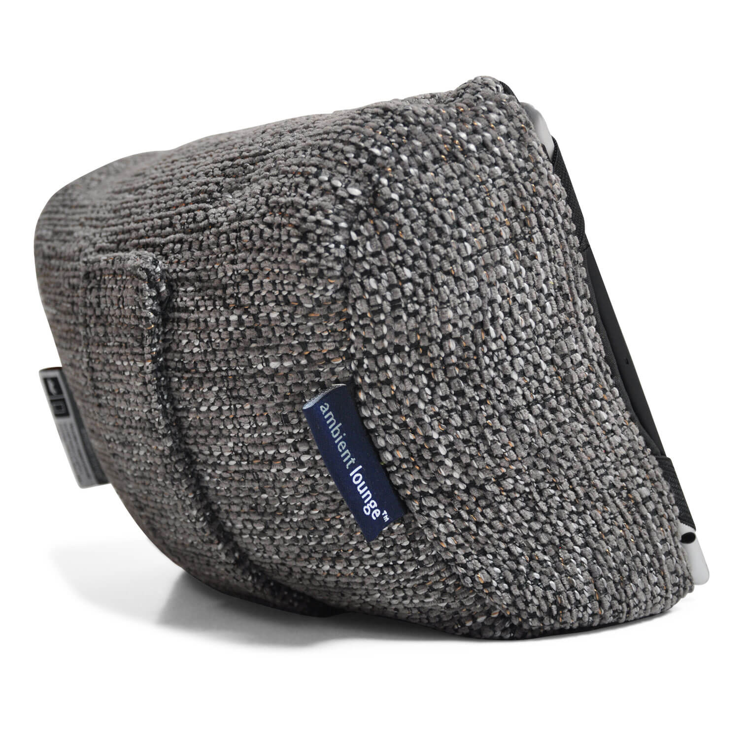 Tech Pillow Grey Ipad Rest And Head Cushion For Travel