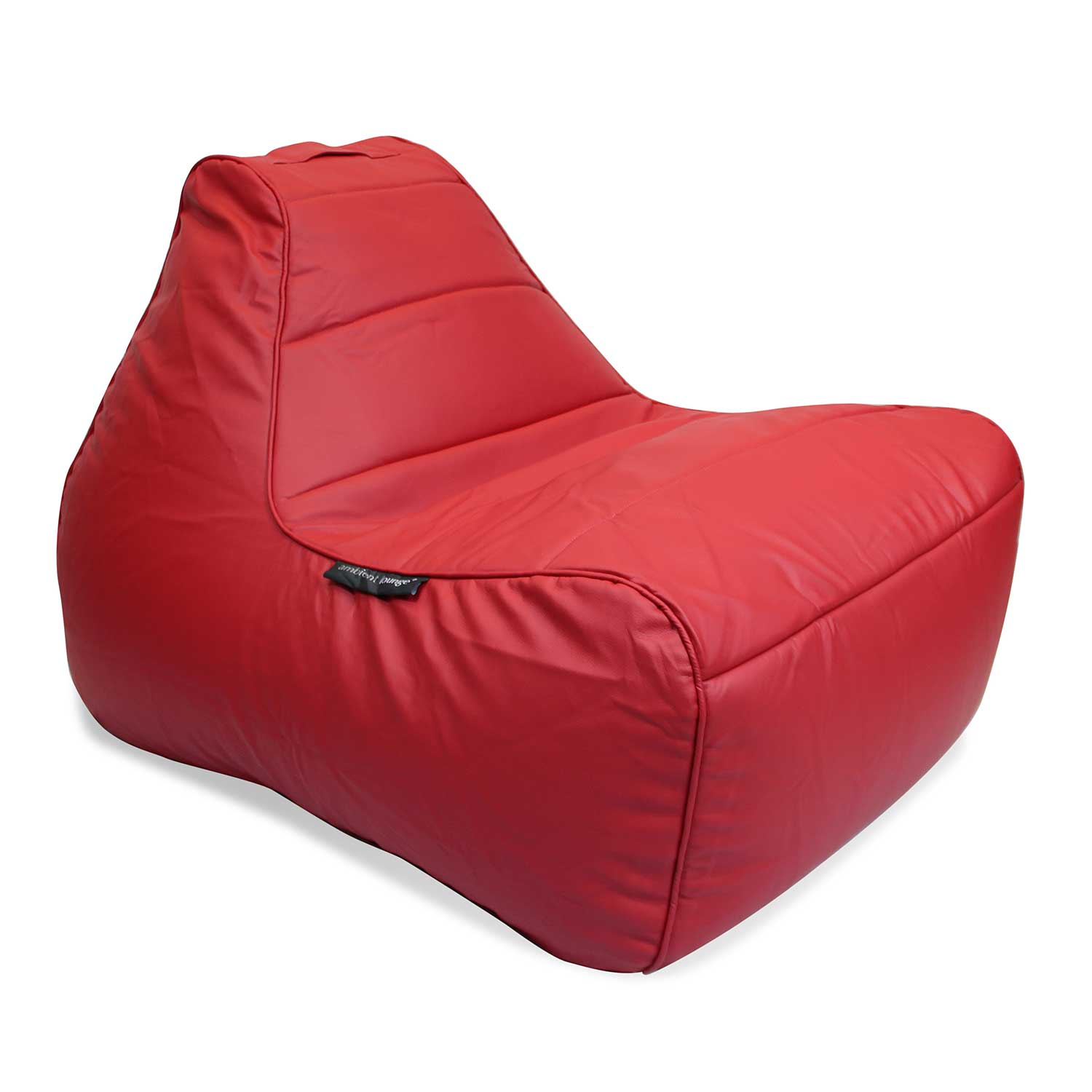 Mode Red Lounger Bean Bag Chair Tivoli Lounger Bean Bag