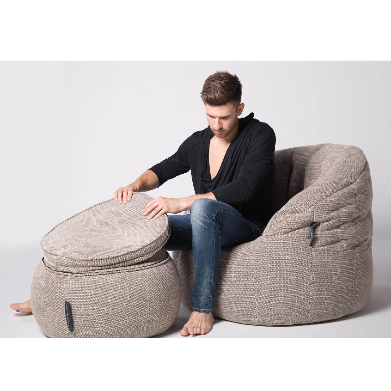 interior bean bags wing ottoman eco weave bean bag new zealand