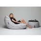 White Acoustic Bean Bags - Ambient Lounge