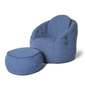 Blue Wing Ottoman  Bean Bags - Ambient Lounge