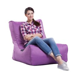 purple evolution bean bag