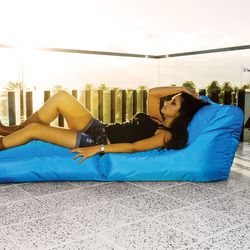 blue conversion lounger bean bag