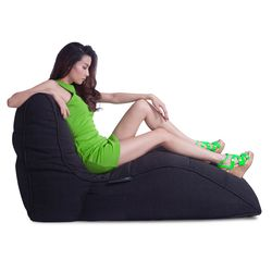 black avatar bean bag