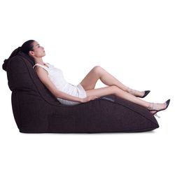 Brown Avatar Bean Bag Sofa