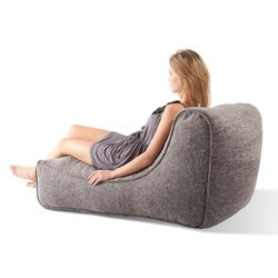 Grey Lounger Bean Bag - Ambient Lounge