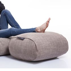 cream ottoman bean bag new zealand