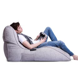 White Avatar Bean Bag Sofa