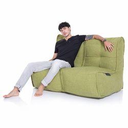 Green Twin Couch Bean Bag Sofa