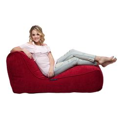 Red Lounger Bean Bag - Ambient Lounge