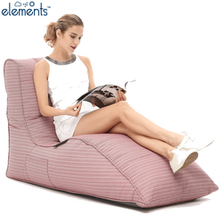 pink lounger bean bag chair