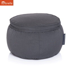 black wing ottoman sunbrella fabric bean bag