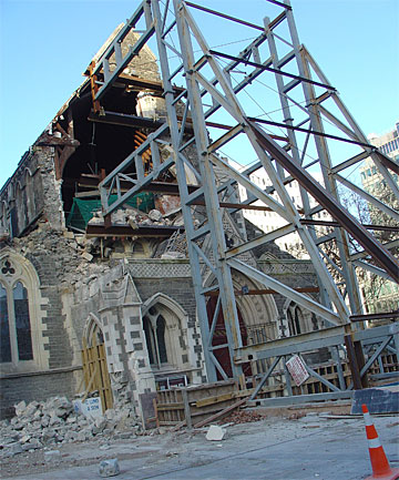christchurch is finally on the mend