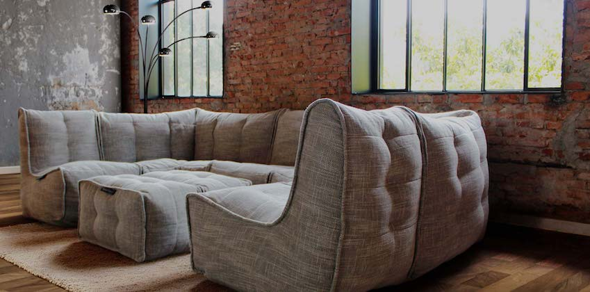 Modular New Zealand bean bag furniture by Ambient Lounge