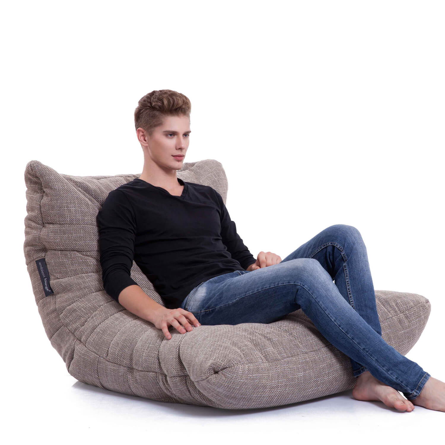Interior Bean Bags Acoustic Sofa Eco Weave