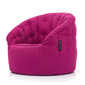 pink butterfly bean bag
