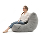 Grey Acoustic Bean Bags - Ambient Lounge