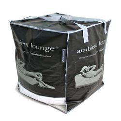 white premium filling bean bags by Ambient Lounge