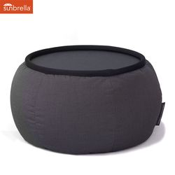 black versa table sunbrella fabric bean bag