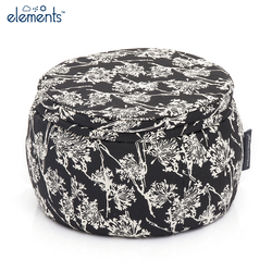black and white wing ottoman bean bag