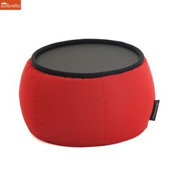 crimson versa table sunbrella fabric bean bag